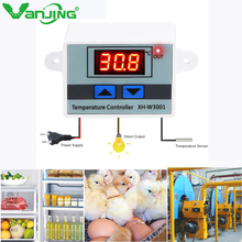 XH-W3001 Digital Temperature controller Microcomputer Thermostat Switch AC 110V 220V 12V 24V Thermometer NTC Sensor цены