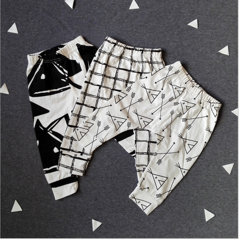 2017 New Baby Pants Fashion Cotton Infant Pants Newborn Baby Boy Pants Baby Girl Clothes 0-24 M Baby Trousers High Quality