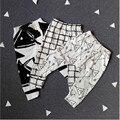 2017 Nuevos Pantalones Del Bebé Pantalones de Algodón de Moda Infantil Bebé Recién Nacido Pantalones de niño Ropa de Bebé 0-24 M Bebé Pantalones De Alta calidad