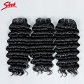 9A Raw Virgin Brazilian Curly Hair 3Pcs 113g/Pcs Brazilian Virgin Hair Deep Wave Five-Color Optional Hair Brazilian Kinky Curly