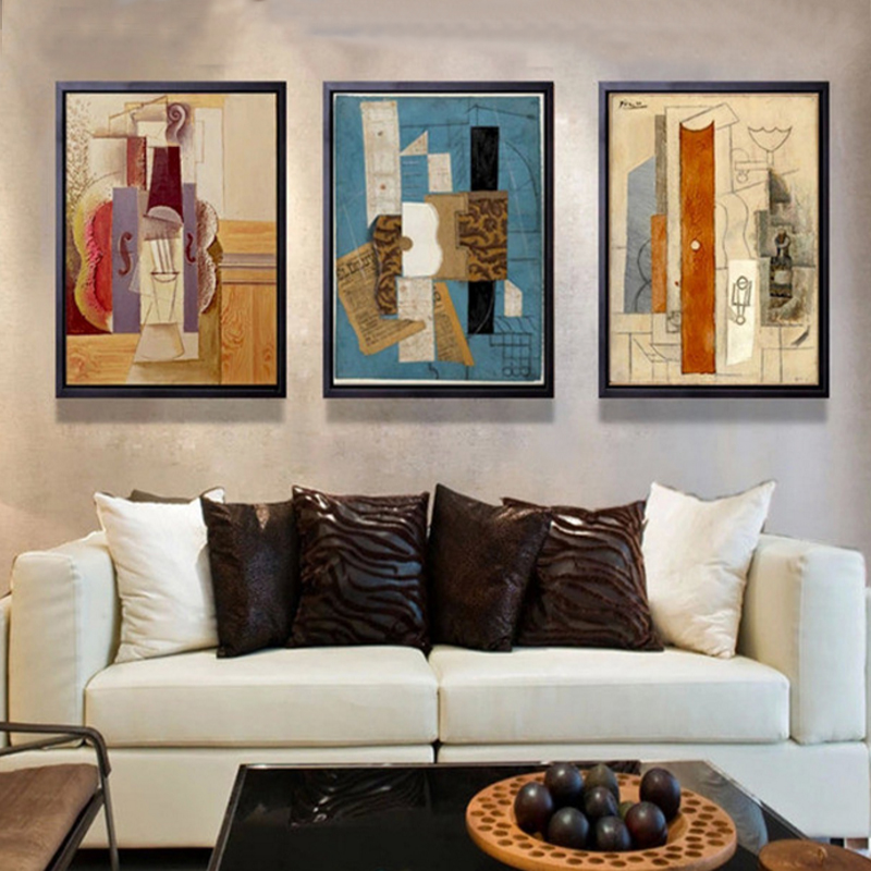 Abstract Multi Colors Piano Canvas Painting Famous Poster And Print Modern  Wall Art Pictures For Living Room Home Decor No Frame In Painting U0026  Calligraphy ... Part 77