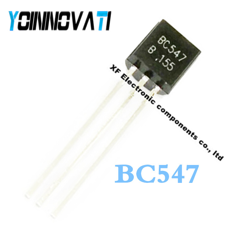 BC547 TO-92 NPN General Purpose Transistor 45V 0.1A 1 Piece