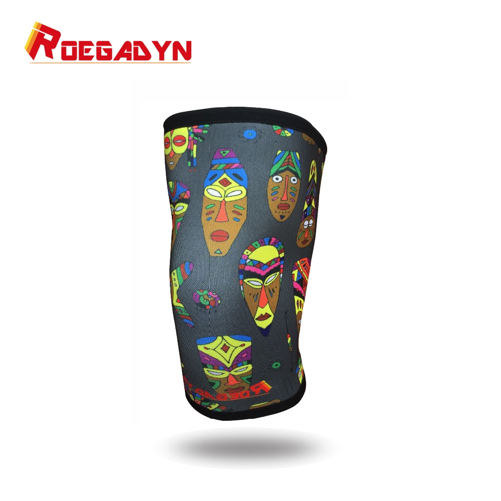 7mm High Performance Stiff Neoprene Knee Sleeve Support for Weight Lifting,Cross Training Best Protection Knee Support Sleeve