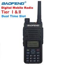 Baofeng Dual Time Slot Walkie Taklie DM 1801 Dmr Draagbare Twee Manier Radio Digitale Anolog Dual Mode Tier I/Ii vhf Uhf Dual Band 5W
