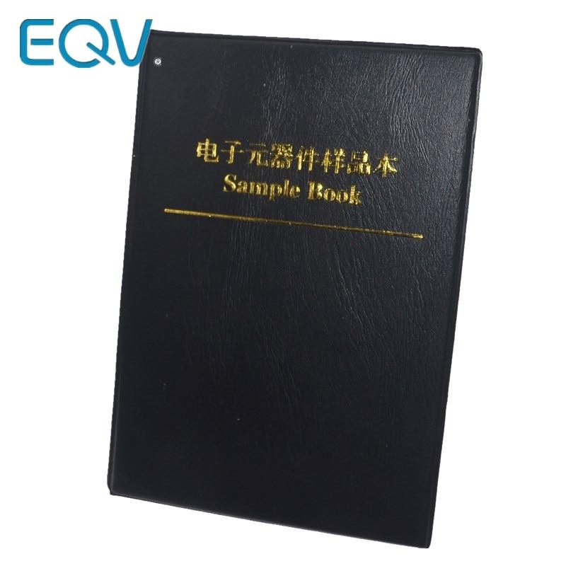 170values X 50pcs=8500pcs 0805 1% 0R-10M Ohm SMD Resistor Kit RC0805 FR-07 Series Sample Book Sample Kit