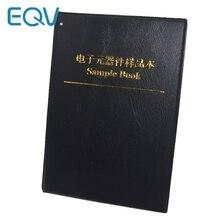 170values X 50pcs=8500pcs 0805 1% 0R 10M ohm SMD Resistor Kit RC0805 FR 07 series Sample Book Sample Kit