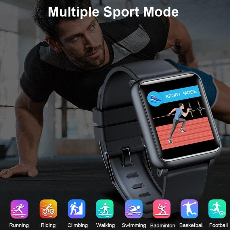 KINYO 2019 nouvelle montre de pression artérielle ecg ppg étanche bracelet intelligent femmes hommes sommeil tracker bracelet intelligent pk z02 montre intelligente - 2