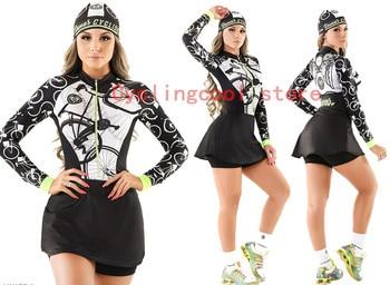 2019 pro equipe triathlon terno feminino camisa de ciclismo saia skinsuit macacão maillot ciclismo ropa ciclismo conjunto 082 1