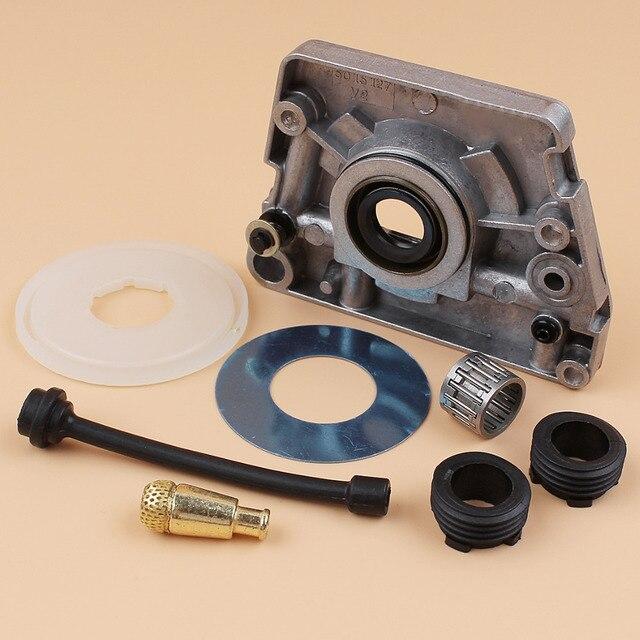 HUSQVARNA Kit de filtre de couvercle anti poussière pour tuyau, pompe à huile, engrenage à vis sans fin, 61, 66, 266, 268, 272, XP 266XP 268XP 272XP, pièces de tronçonneuse