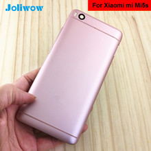 For 5.15 Xiaomi 5S M5S Mi5S mi 5s Back battery cover case+side Buttons for xiaomi MI5S Rear Housing Door Replacement Repair
