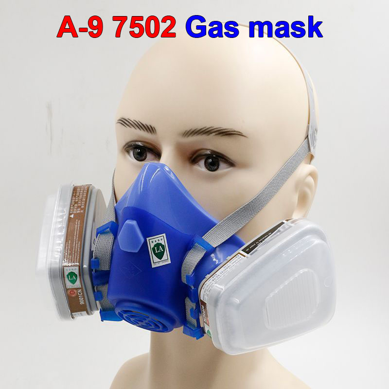 A-9 High quality respirator gas mask pesticides paint antivirus respirator mask silica activated carbon industrial safety mask стоимость