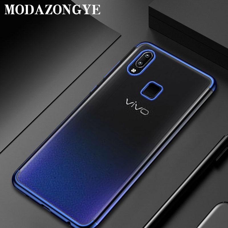 Vivo Y95 Case Vivo Y95 Case Mewah Silikon Lembut Ponsel Case Untuk Vivo Y95 V1807 Y 95 Vivoy95 Penutup Belakang Fandas 6 22