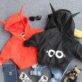 Capa de los niños 2016 otoño ropa de los nuevos niños para niños y niñas de dibujos animados camisa Chaquetas de la cremallera de la chaqueta envío gratuito