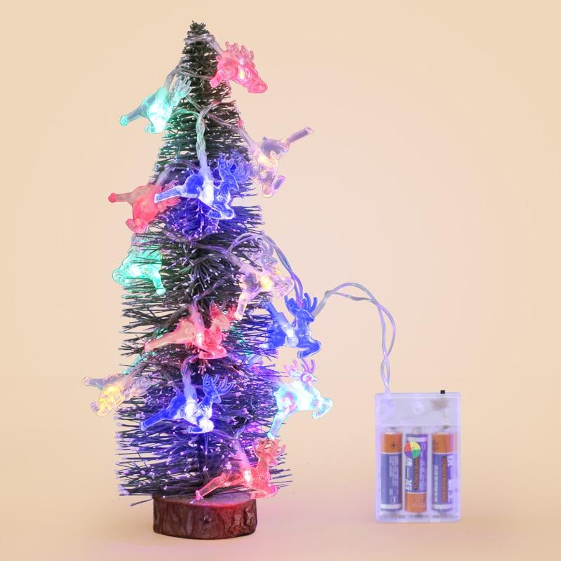 De Goedkoopste Prijs Kerst Led Batterij Modellen Herten Lantaarns Vaak Helder Carnaval Tafel Decoratie Rendier Lichten String Een Grote Verscheidenheid Aan Modellen