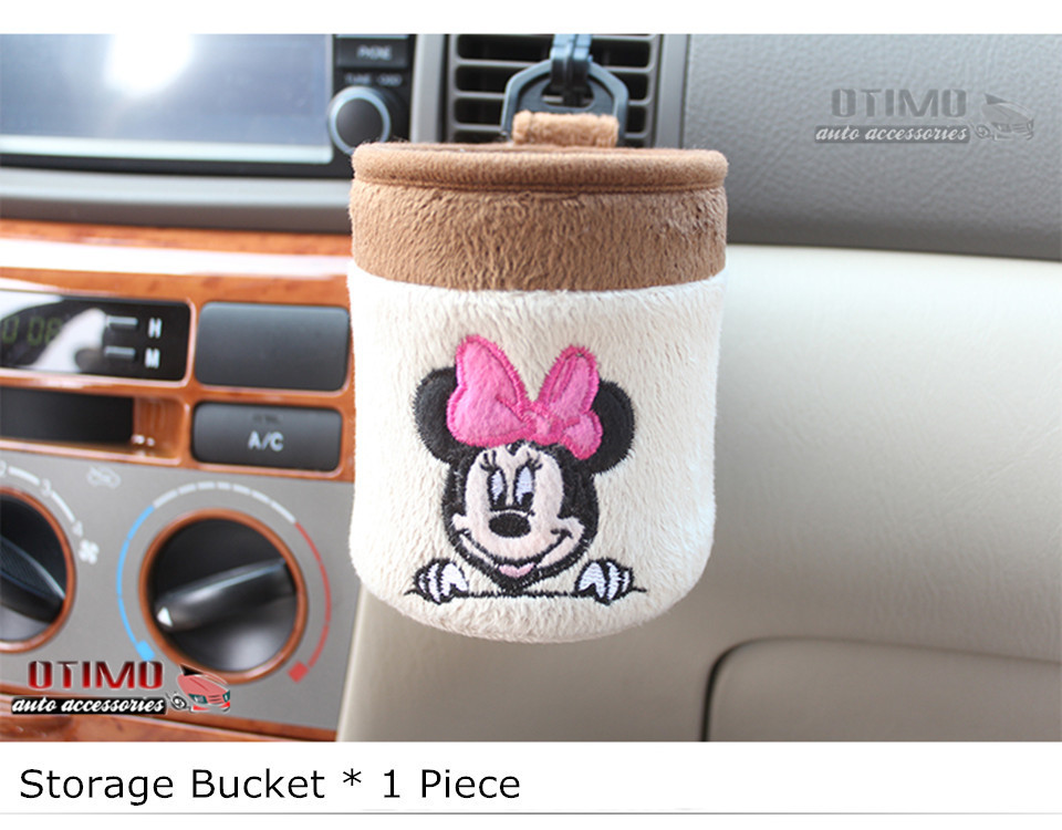 Cute Cartoon Car Steering Wheel Cover Mickey Mouse 6