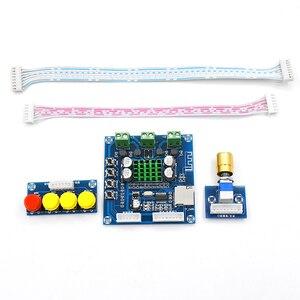 Image 5 - DC 12 V 24 V Bluetooth デジタルアンプボード 15 ワット + 15 ワットステレオ 2.0 オーディオアンプとトーンボード TF カードプレイ