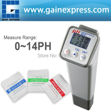 Professional Handheld Waterproof Digital PH meter Temperature High Accuracy +/-0.05PH with Replaceable Electrode