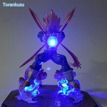 Dragon Ball Z Action Figure Vegeta Figurts Zero Led Light DIY Display Toy Esferas Del Dragon Toy Super Saiyan DBZ+Light DIY81