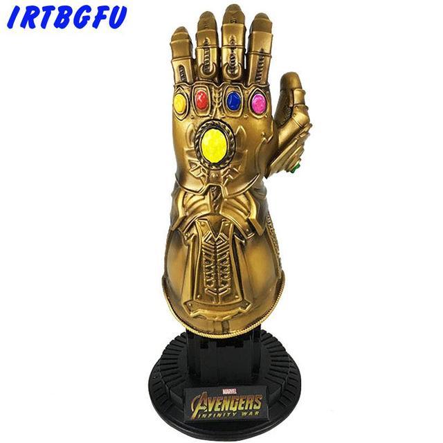 Infinito Guerra Figuras de Ação Vingadores Thanos Gauntlet Cosplay de Super-heróis Homem De Ferro Ação Figurinhas Colecionáveis Modelo Toy Venda Quente