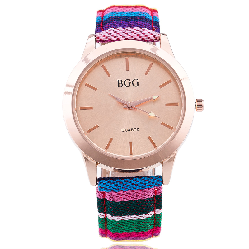 2017 New Luxury Brand Fashion Women Braided Strap Quartz Watch Casual Wristwatches Simple Gold Dial Watches 4 Color Clock luxury brand new silver watch women fashion quartz wristwatches butterfly rose dial watches women dress quartz watch clock