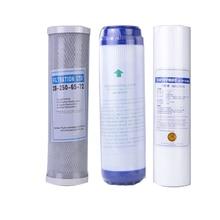 3 Niveaus Pp Katoen Filter + 10 Waterzuiveraar Filter Udf Granulaire Actieve Koolfilter + Cto Gecomprimeerd Carbon omgekeerde Osmose