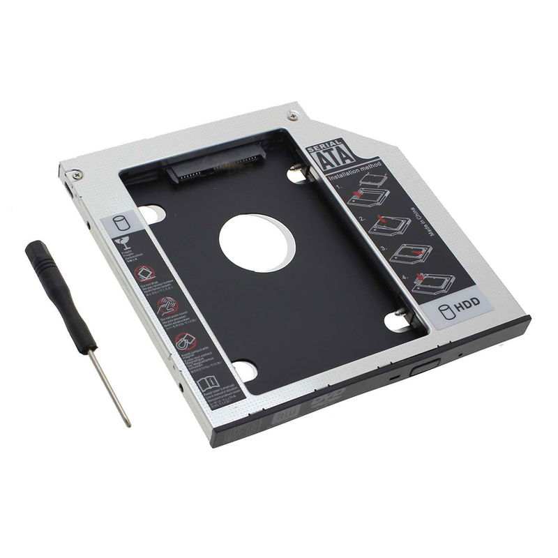 2nd HDD SSD hard drive caddy For dell Latitude 3440 3540 E5440 E5540 E6440 E6540