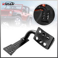 Dead Pedal Left Side Foot Rest Kick Dead Pedal Panel For Jeep Wrangler JK Accessories 2007 2017 Car Styling Interior Decoration