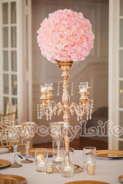 68 Cm Hoch Hochzeit Tabellenmittel Blumenvase Kerzenleuchter