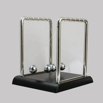 Home Decoration Accessories Newton Cradle Newton Ball Balance Collide Swing Black Base Science Miniatures Decoration online shopping in pakistan with free home delivery