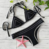 Neoprene Knitted Bikini Set 4