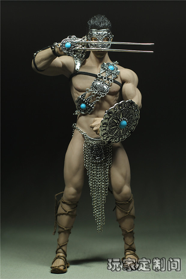 1/6 scale figure doll Accessory Metal clothes for Phicen male Seamless body doll ,Not included body;head;shoes; 17C3709 1 6 scale figure doll plastic model seamless body with metal skeleton female samurai tomoe 12 action figure collectible figure