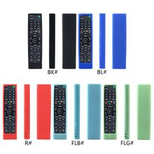 Remote Control Case Silicone Cover Shockproof Protector Washable Skin for Sony R