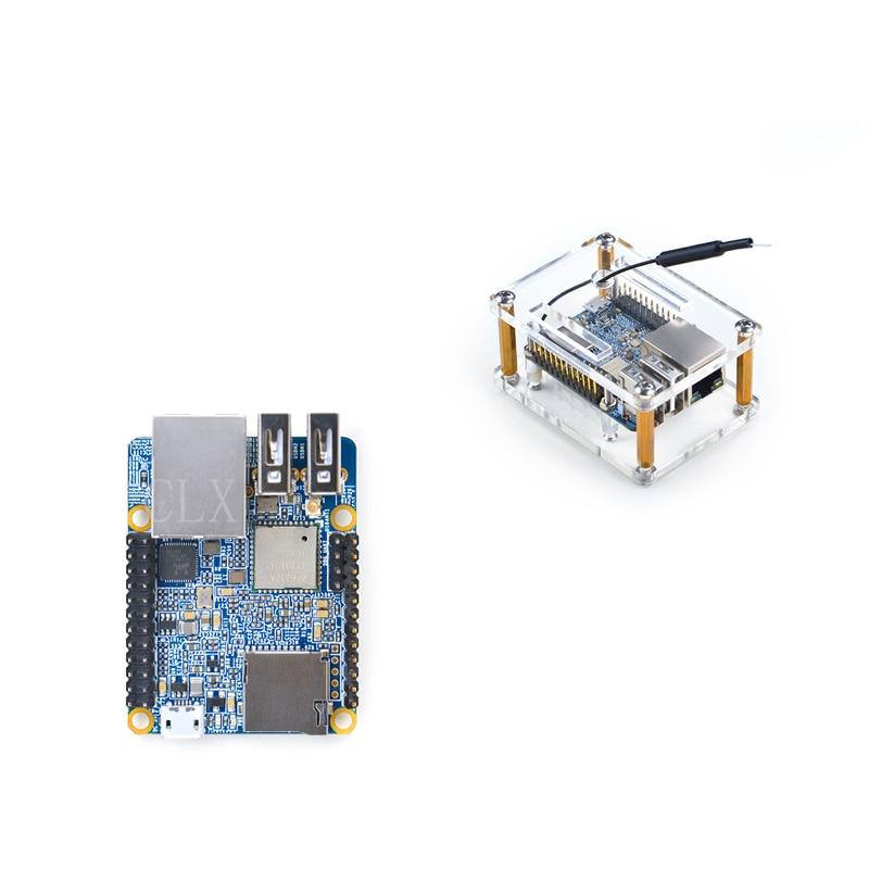 NanoPi-NEO Plus2 With Case 1GB DDR3 RAM 8GB EMMC Allwinner H5 Quad-core 64-bit High-performance Cortex A53