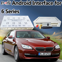 4 Core Android 6.0 Navigation + Korea Interface for BMW 6 Series with CIC System support Miracast ,APPs ,WIFI , Rear Camera