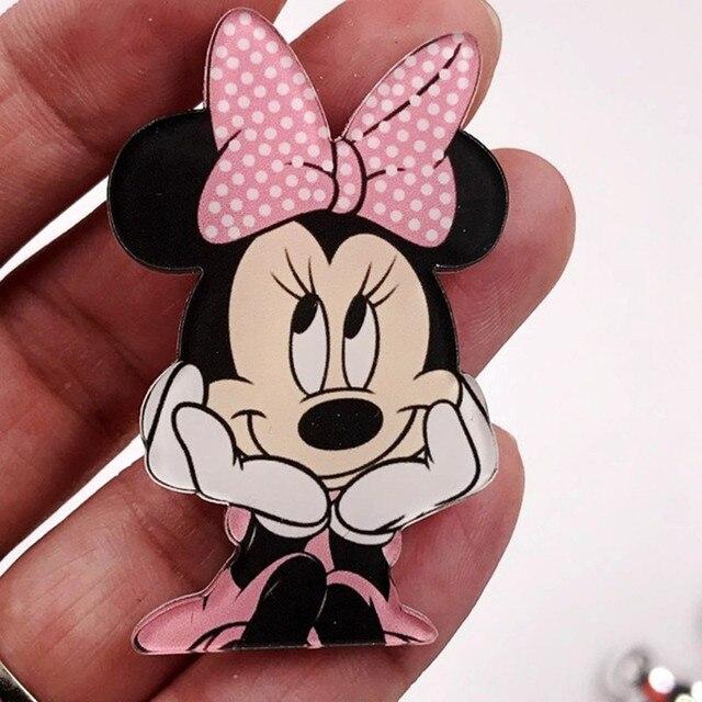 1 Pcs חמוד Cartoon מיני תוויות תרמיל אקריליק תגי בגדי סמלים על תרמיל פין סיכת ילדים אבזרים