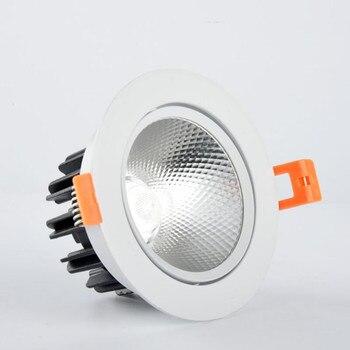 LED Downlights COB 7 W 10 W 15 W 20 W LED Encastré LED Downlight LED Ampoule Spot Lampe Chaude Blanc Froid Dimmable Plafonnier