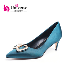 Fashion Women Shoes High Heel 5.5cm Pointed Toe Universe S/A Luxury Thin Ladies Party Wedding Heels 2019 J030