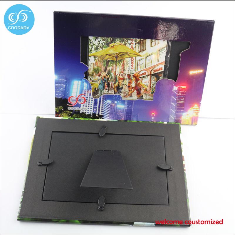 Goodadv factory promotion supply various shape cardboard picture ...