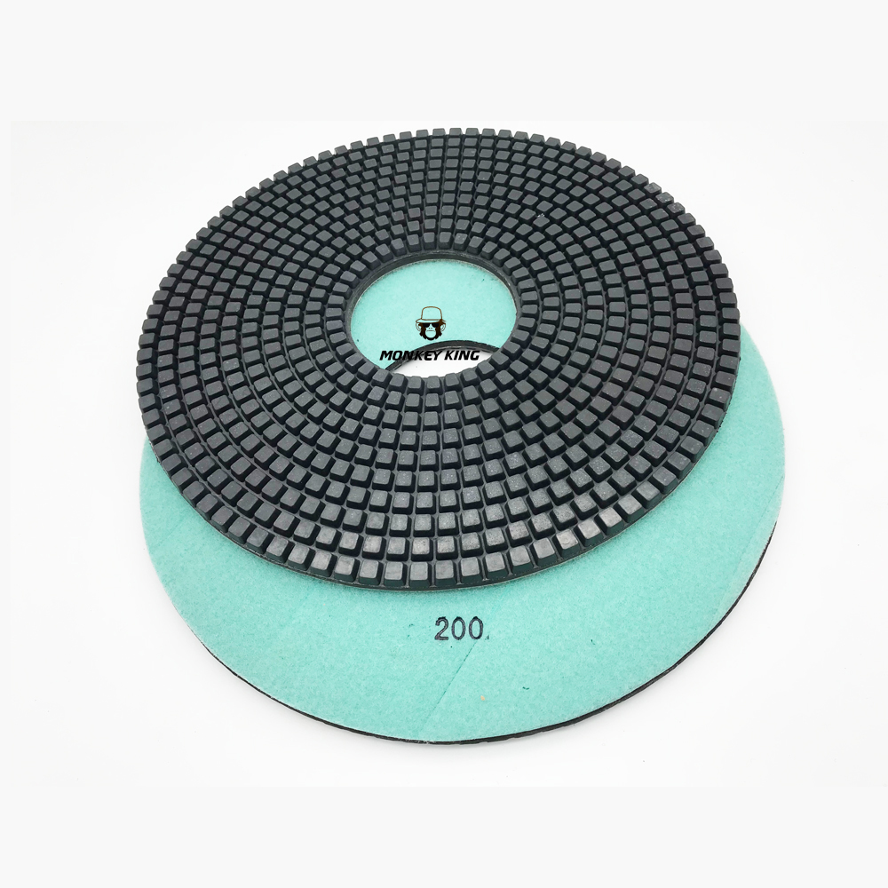 400mm Wet Dry Diamond Resin Polishing Pad for marble granite Terrazo Jade Agate 10mm Thickness|Polishing Pads|   - title=