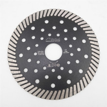 DIATOOL Diamond Hot Pressed Superthin Diamond Turbo Blade for Cutting Granite Marble Concrete Masonry