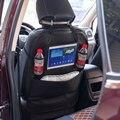 Автомобильное сиденье для хранения/защита от ударов коврик использовать для детей путешествия 2 в 1 кожаный Органайзер на заднее сиденье с д...