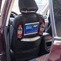 Auto sitz zurück speicher/Protector Anti kick matte Verwenden für Baby Kinder Reise 2 in 1 Leder Rücksitz Organizer mit Halter-in Anti-Child-Kick Pad aus Kraftfahrzeuge und Motorräder bei