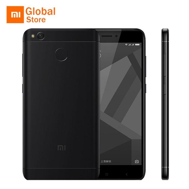 """Xiaomi Redmi 4x4x2 ГБ Оперативная память 16 ГБ Встроенная память мобильного телефона Snapdragon 435 Octa Core 5.0"""" отпечатков пальцев ID 13.0MP 4100 мАч Глобальный Встроенная память"""