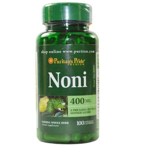 100% American Imported Noni 400 mg-100 pcs free shipping free shipping melatonin 3 mg 240 pcs