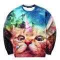2017 Новое Прибытие Мода женщины/мужчины пуловеры толстовка забавный Единорог отпечатано 3d футболка хип-хоп стиль пиджаки мужские толстовки