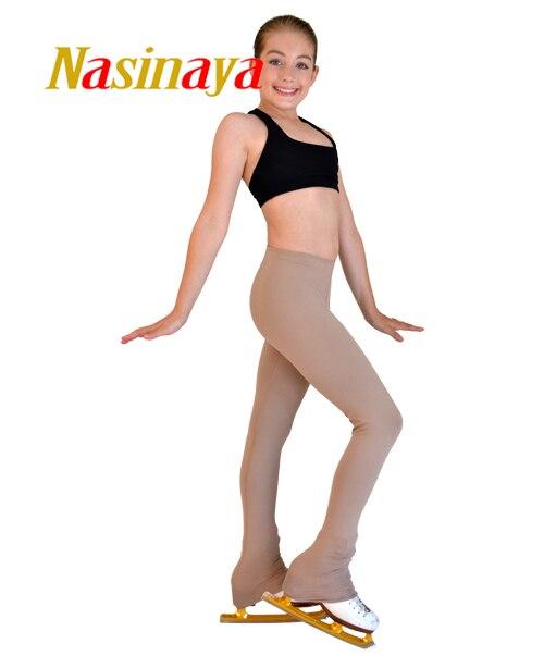 Personnalisé Figure De Patinage pantalon long pantalon pour Fille Femmes Formation Concurrence Patinaje Glace De Patinage mince tissu Gymnastique 1