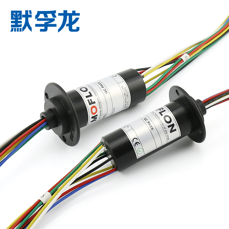 Slip Ring 6A 10A Cap Type Conductive Slip Ring 81012 Way Collector Ring Electric Rotary Connector Conductive Ring Brush capsule slip ring connector with flange od22mm 2s signal 2p power miniature slip ring rotary collector
