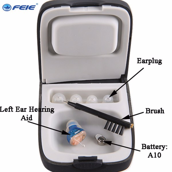 FEIE amplifier to the ear S-13A  telecom hearing aid sound amplifier hearing aids for deaf headset free shipping feie hearing aid s 10b affordable cheap mini aparelho auditivo digital for mild to moderate hearing loss free shipping