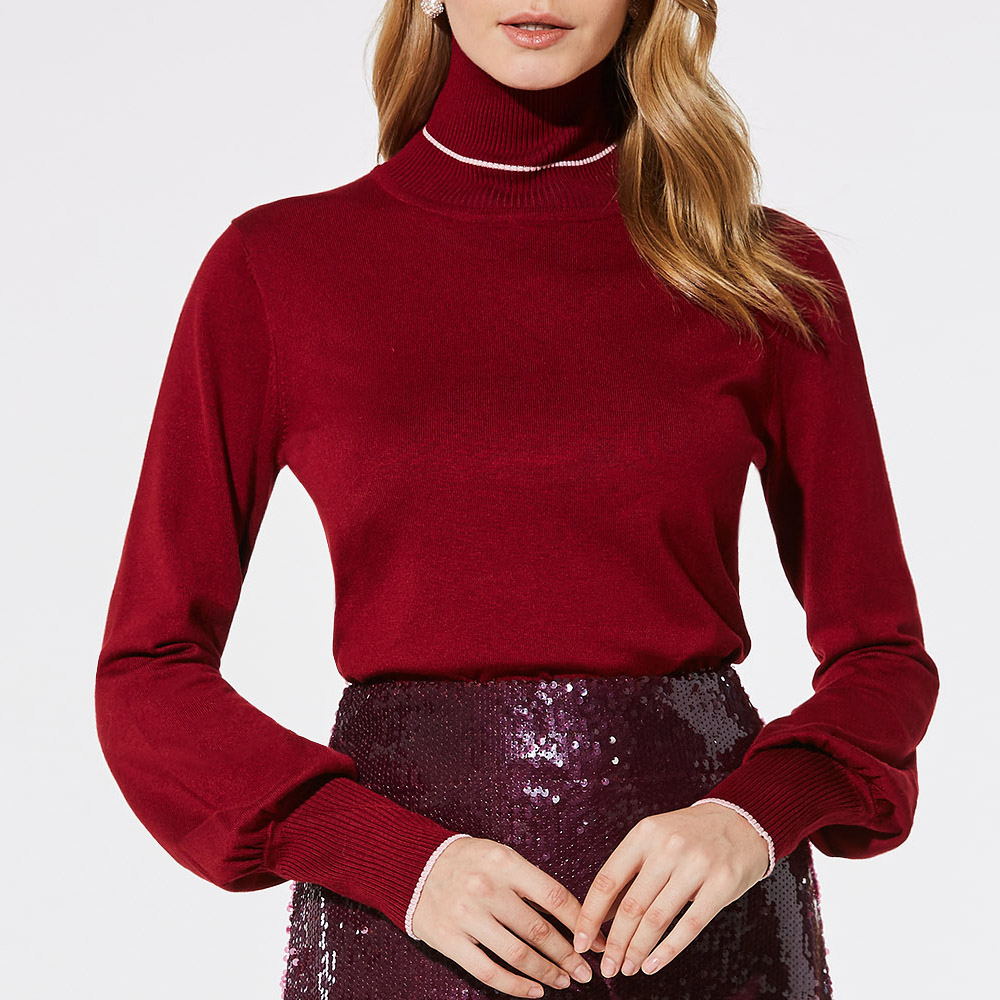 2018 Long Sleeve Turtleneck Sweater Women Autumn Winter Pullover Plus Size Female Jumper Ladies Knitted Sweater Women Clothes