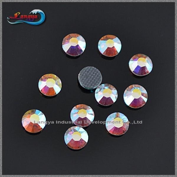A+ DMC Shiny Strass SS20 Crystal AB Hotfix Rhinestone 1440pcs/bag For Wedding Dress Accessories